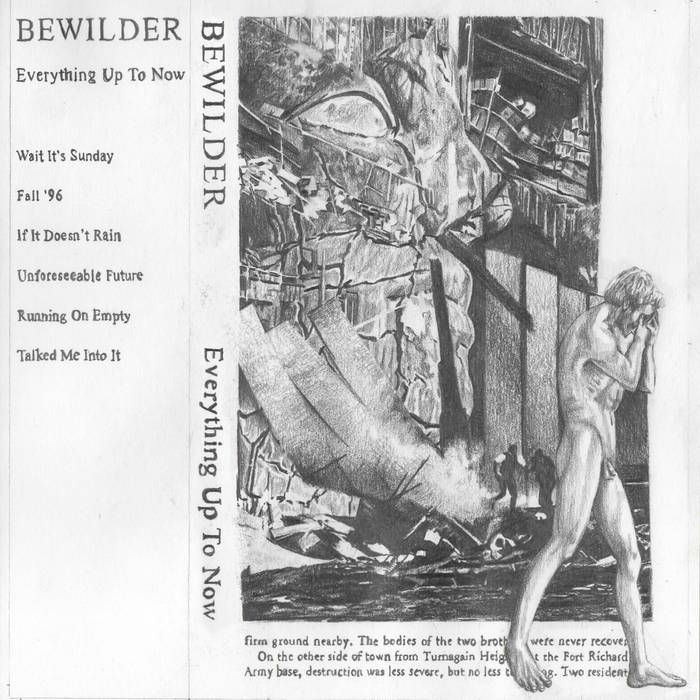 Bewilder - Everything Up To Now tape