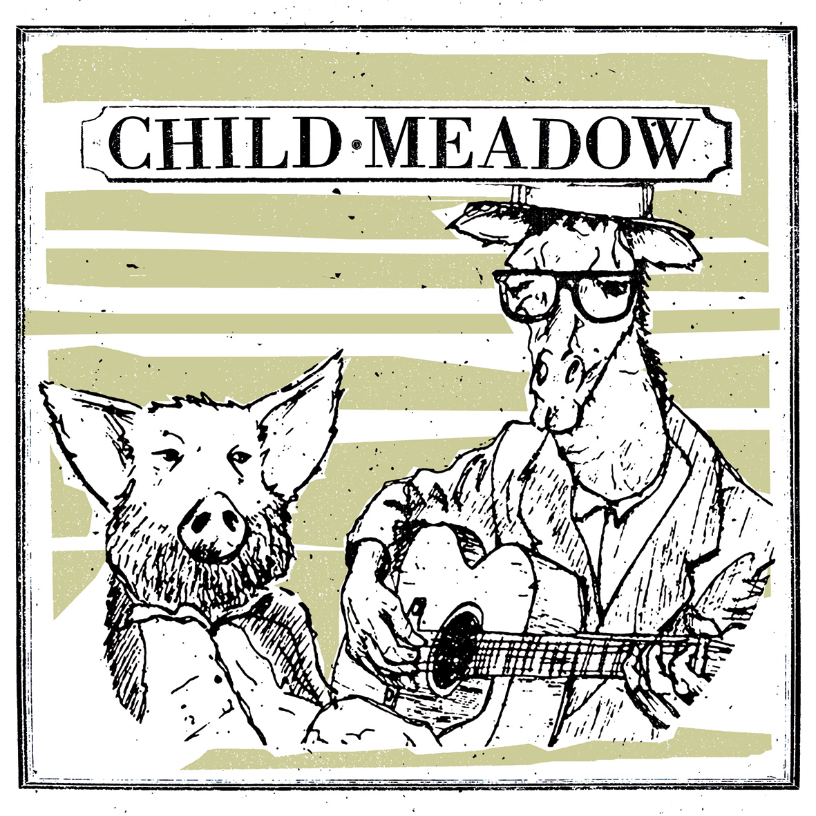 "Child Meadow - Crispy BBQ Tofu Burger 12"" lp"