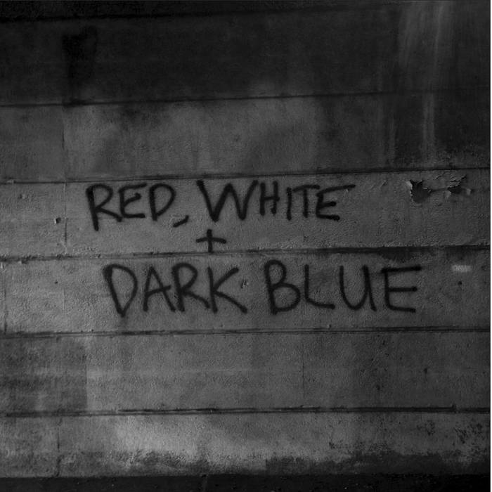 "Dark Blue - Red White 12"" lp"
