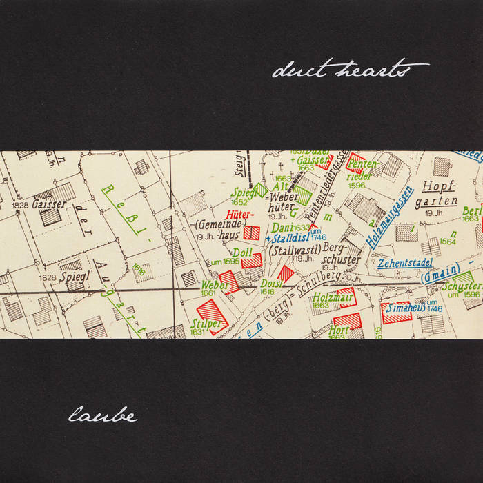 Duct Hearts / Laube - split 7""