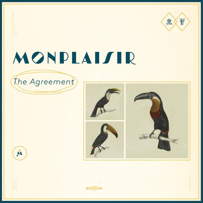 "Monplaisir - the Agreement 12"" lp"