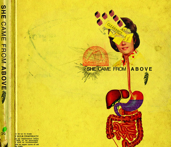 She Came From Above - s/t : cdep